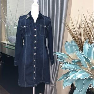 INC International Concepts Jeans long jacket